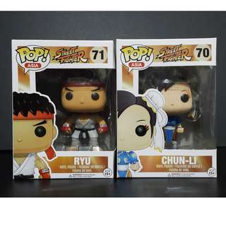 Funko Pop Street Fighter - Set of 2