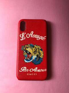 iPhone X Gucci Style Case