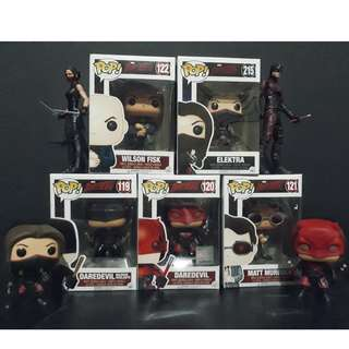Funko Pop Netflix's Daredevil - Set of 5