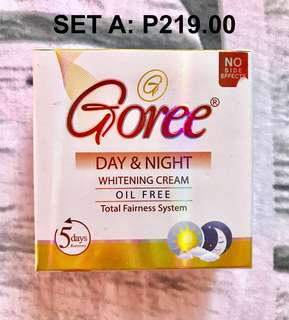 Goree Beauty Cream and Soap