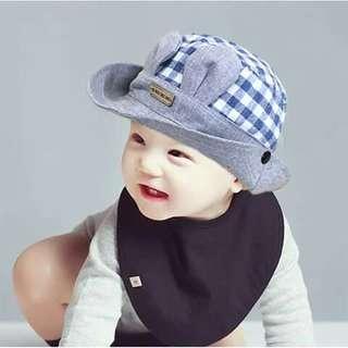 Baby Bucket Cap - BLUE