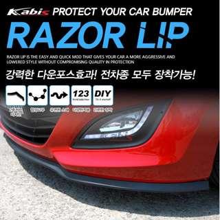 韓國 出品 , Bumper / 頭唇 專用防撞條 --- 韓國製