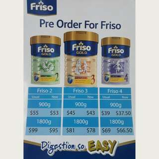 [Pre Order] Friso 2, 3 and 4