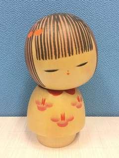 日本手信 日本雕刻 娃娃 Japanese wooden doll