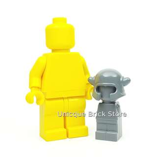 [Unicque] Lego Minifigure Accessory - Microfig with Horn Helmet