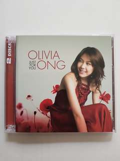 CD(SOLD) Olivia Ong - Just For You (2cd)