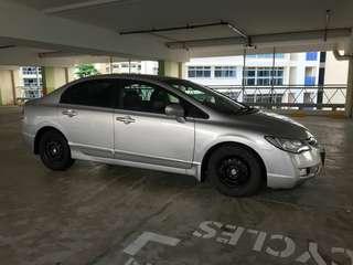 Honda Civic FD 1.8 A Padleshif  SG