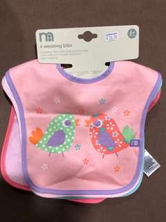Mothercare Weaning Bibs