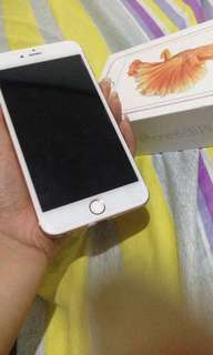 Selling my Iphone 6s plus 64gb Rosegold