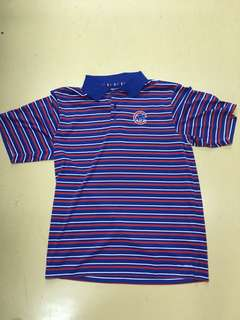 MAJESTIC MLB STRIPES COOL BASE POLO SHIRT 涼感輕薄條紋Polo衫  小熊 金鶯 國民 紅雀 SIZE L