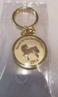 HSBC 匯豐 匯豐銀行 2014 馬年 新肖 鎖匙扣 Key Ring