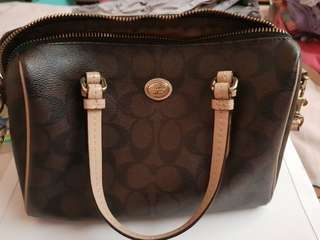Authentic Coach Bags Preloved