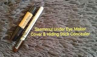 Eyemaker and concealer