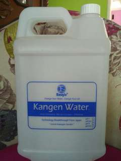 Kangen Water fresh from machine, murah berkah