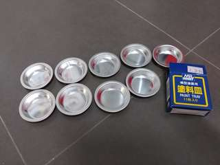 Paint tray (9 of them brand new) free plastic tray!
