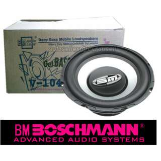 "BOSCHMANN (USA) 10"" 400W heavy duty subwoofer"