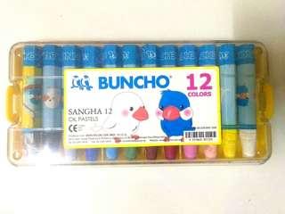 Buncho Sangha 12 oil pastels