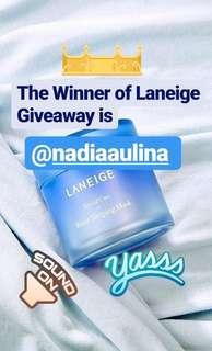 Giveaway Winner