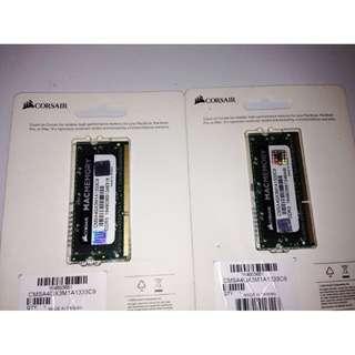 Corsair 4GB DDR3 1333 MHz SODIMM