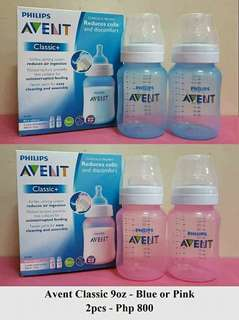 Avent classic Pink/ Blue