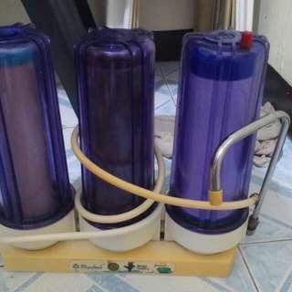 Alkaline purifier water