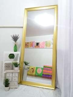 Elegant Big Golden Mirror