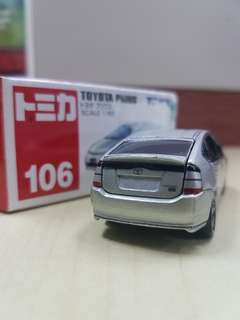 Japan Tomy Tomica No.106 Toyota Prius 2003 1/60 Diecast Toy Car #RARE #under90