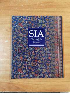 Singapore Airlines Book on SIA take-off to Success