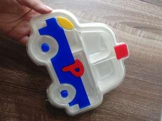 Sanrio runabouts車仔膠餐盒