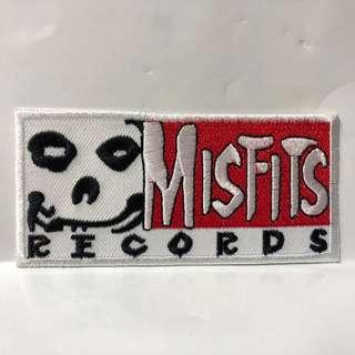Misfits - Misfits Records Woven Patch