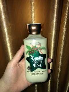 Bath & Body Works (Vanilla Bean Noel) Body Lotion (christmas edition)