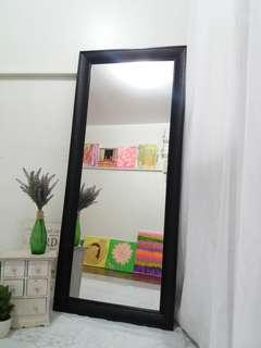 Black Tall Mirror