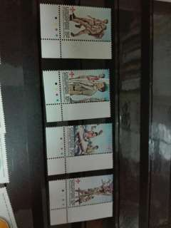 Singapore Stamps Scouts 1982