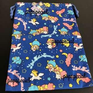 Little Twin Stars Blue Moon Drawstring Pouch Bag