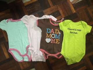 Pre-loved Baby Rompers (3-6months)