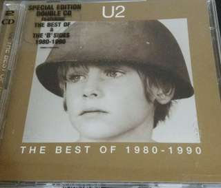 NM U2 best of cd 2 80-90 pop rock
