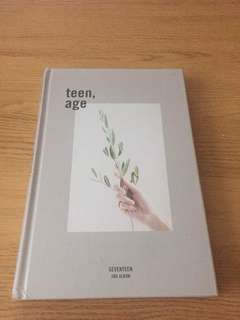 SEVENTEEN Teen Age Sealed Grey Version