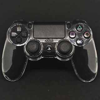 🚚 PS4 DualShock 4 Clear hard plastic crystal case
