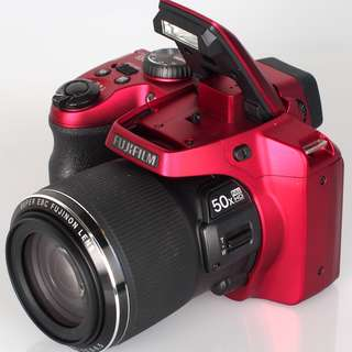 Fujifilm FinePix S9200 Red Color with 50X Optical Zoom