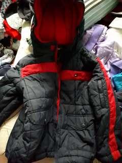 Tommy jacket logo design