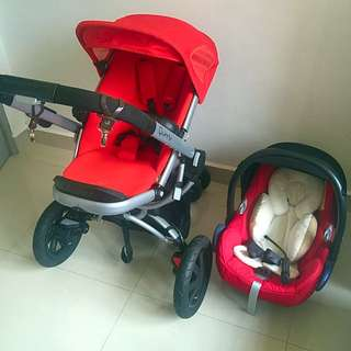 Quinny Buzz Extra 3 With Maxi Cosi,reduce The Price To 1090