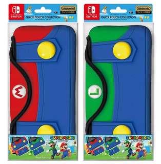 🚚 Mario Luigi Nintendo Switch Collectors soft pouch