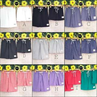 🌻Plain Couple Shorts