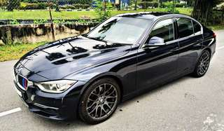 SAMBUNGBAYAR / CONTINUE LOAN  BMW F30 328i TWIN TURBO TAHUN 2012/2012