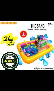 🌈Ready Stock🌈2Kg Sand Playset