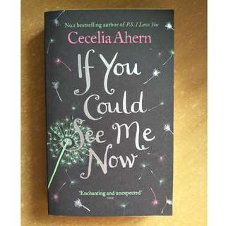 """If You Could See Me Now"" by Cecelia Ahern"