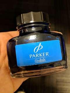 Blue Parker Quink