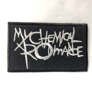 My Chemical Romance - Logo Rectangle Woven Patch