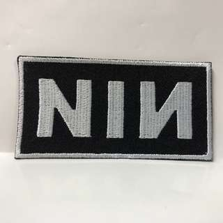 Nine Inch Nails - Logo Woven Patch