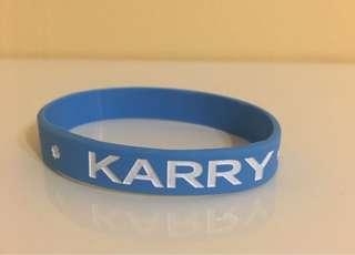 TFBOYS Karry Wang Wristband / TFBOYS王俊凱手环